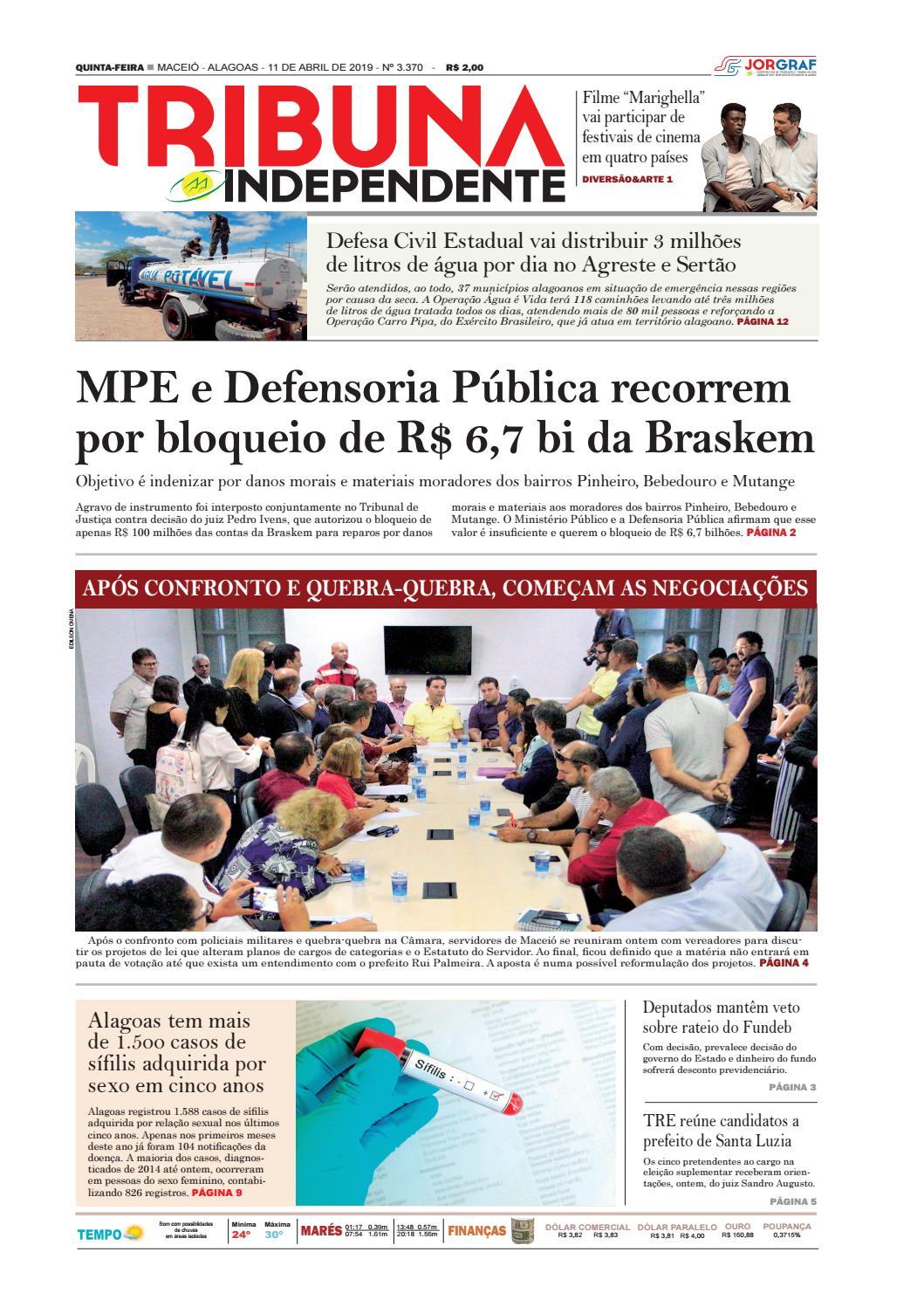 76bf2b432 Edição número 3370 - 11 de abril de 2019 by Tribuna Hoje - issuu