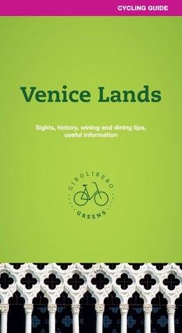 Veneto and Venice lands - Girolibero Greens cycling guide
