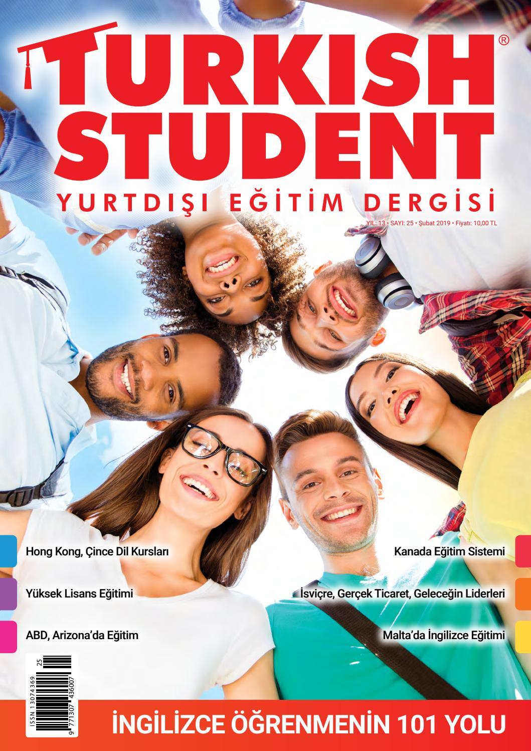 Turkish Student Yurtdışı Eğitim Dergisi Sayı25 By Ender Birer
