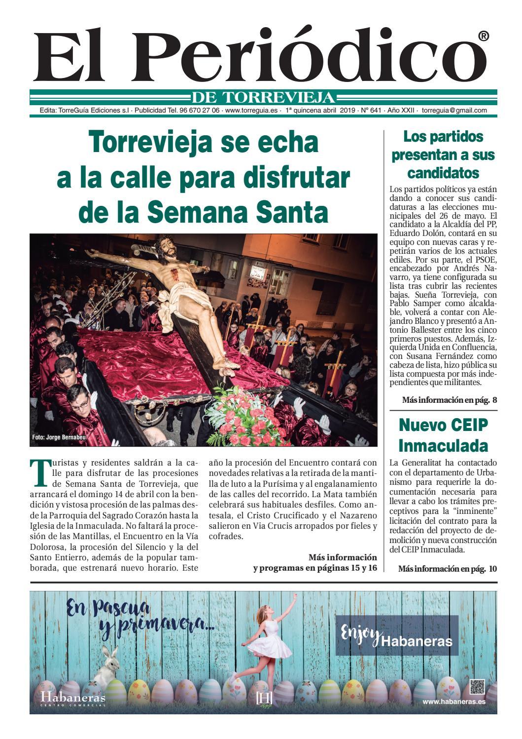 El Periódico De Torrevieja Nº641 By Torreguía Ediciones Issuu