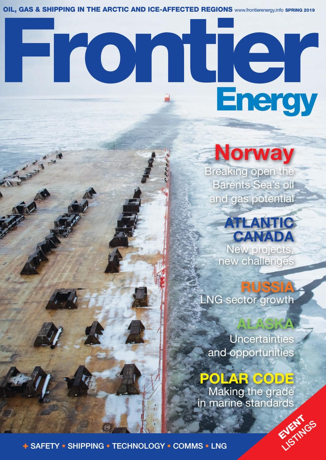 Frontier Energy, Spring 2019 by Frontier Energy - issuu