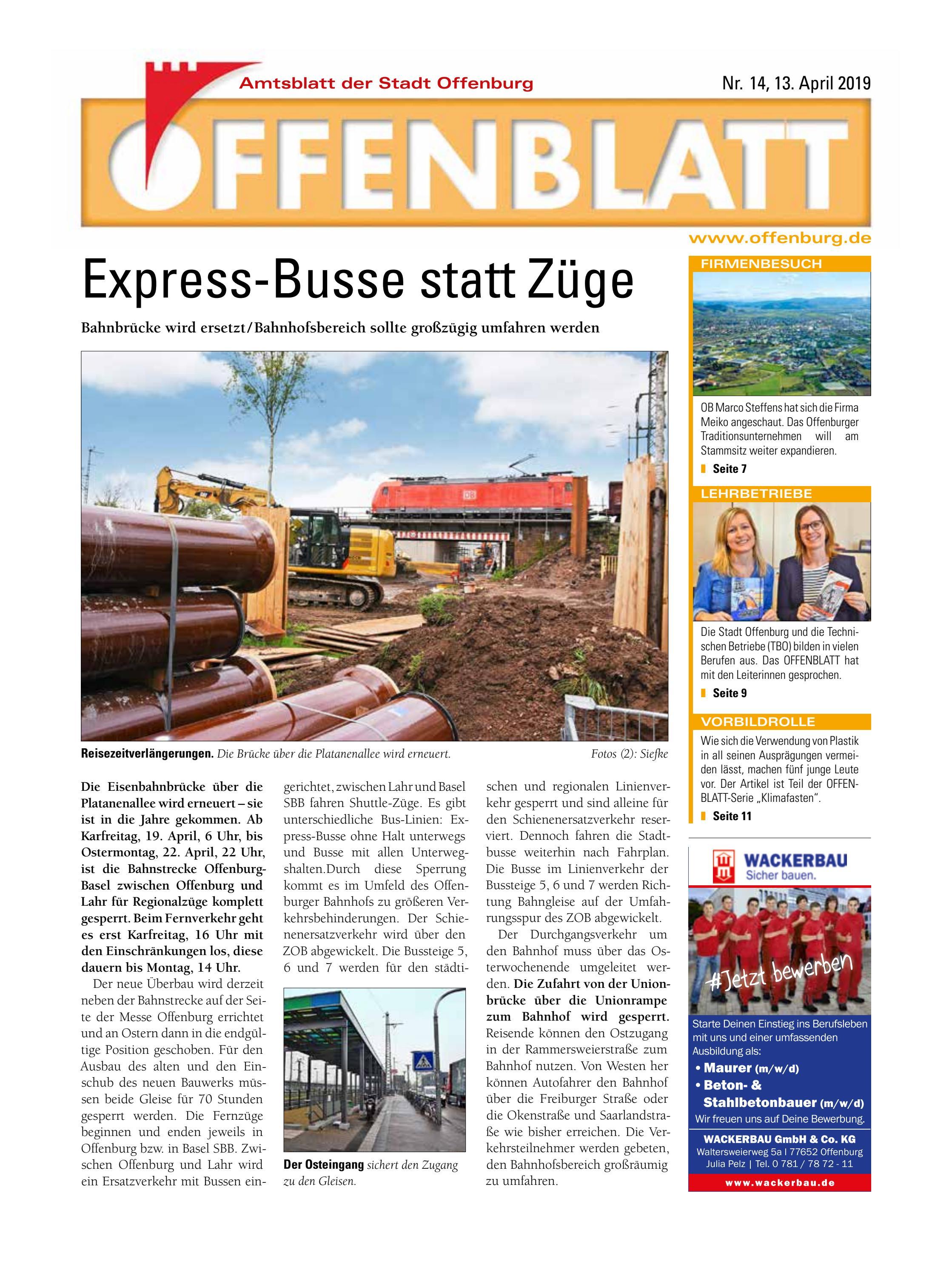 39b4d3ec41ae5f Offenblatt 14 2019 by Offenburg Offenblatt - issuu