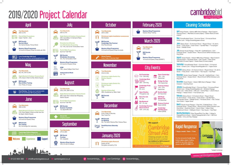 2020 Jesus Calendar Cambridge BID 2019/2020 Project Calendar by lovecambridge   issuu