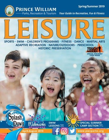 2019 Spring Summer Leisure Prince William County Parks