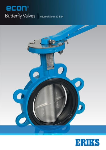 Grooved-Style Butterfly Valve Ductile Iron 300 psi 6 Pipe Size