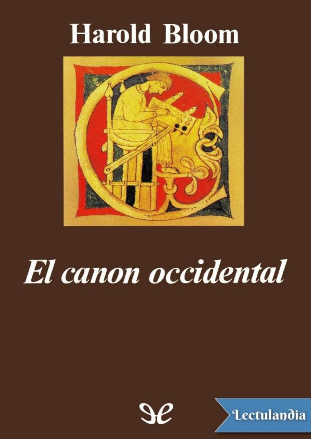 342d424b1bd0 El canon occidental by Sala de Prensa - issuu