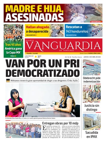 Diario Vanguardia De Veracruz 11 De Abril 2019 By Vanguardia
