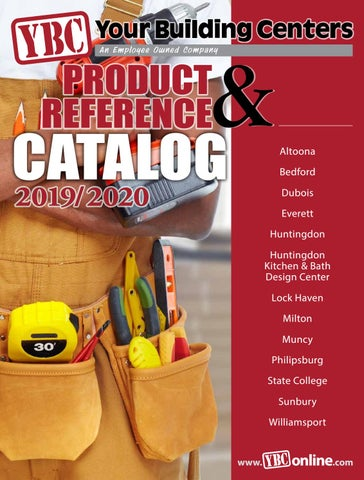 2019/2020 Your Building Centers Catalog by Your Building Centers - issuu