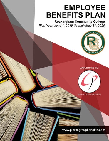 Fsa Eligible Expenses 2020 List.Rockingham Community College 2019 Booklet 2019 2020 Plan