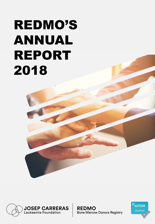 REDMO Annual Report 2018 by Fundación Josep Carreras contra