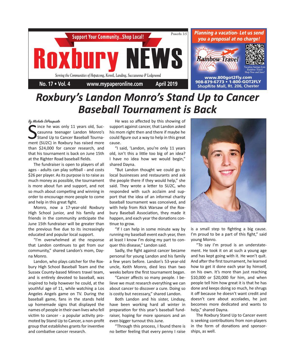 Roxbury April 2019 by My Life Publications  Maljon LLC - issuu