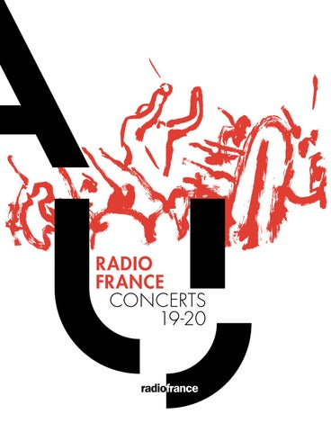 Concerts De Radio France Saison 1920 By Maisondelaradio Issuu