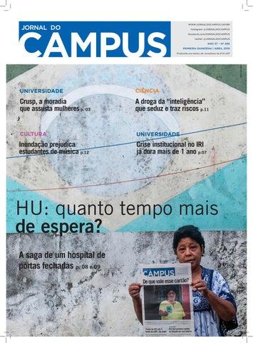 Edição 496 Abril 2019 By Jornal Do Campus Issuu