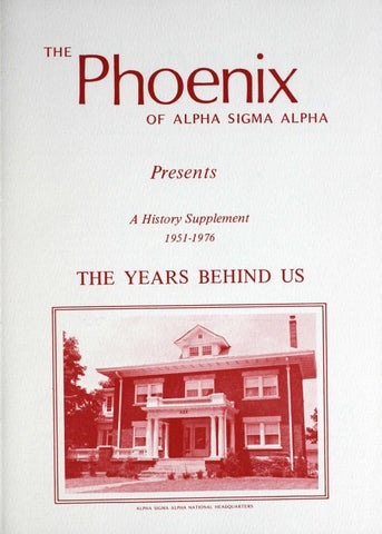 promo code 7f607 06b21 Asa phoenix vol 62 no 1 fall 1976 by Alpha Sigma Alpha Sorority - issuu