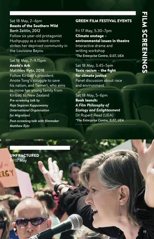 Page 19 of Green Film Festival at UEA - May 2019