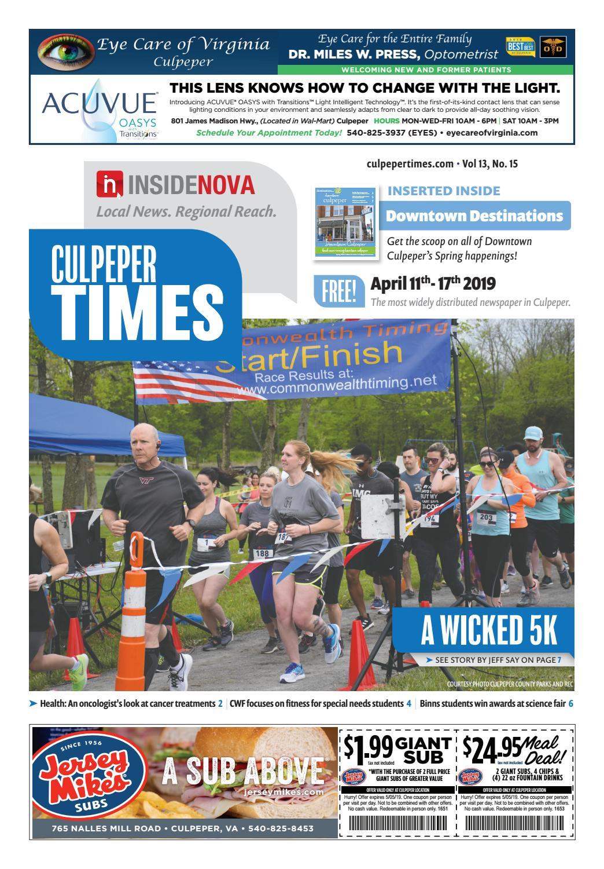 Culpeper Times - April 11-17, 2019 by InsideNoVa - issuu
