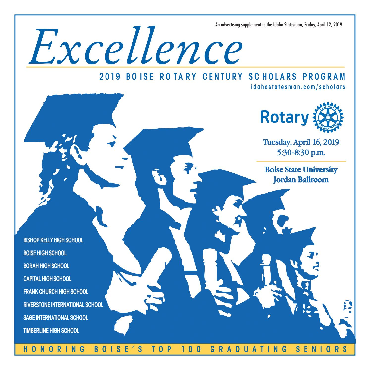 2019 Boise Rotary Scholars by Idaho Statesman - issuu