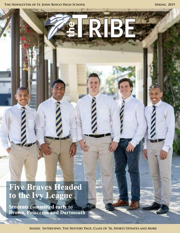 new concept 245b1 3afa8 The Tribe Spring Edition 2019 by stjohnbosco - issuu