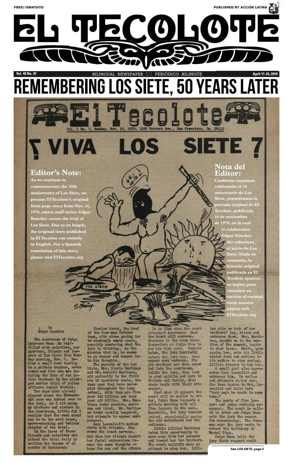 El Tecolote Vol 49 Issue 07 By El Tecolote Issuu