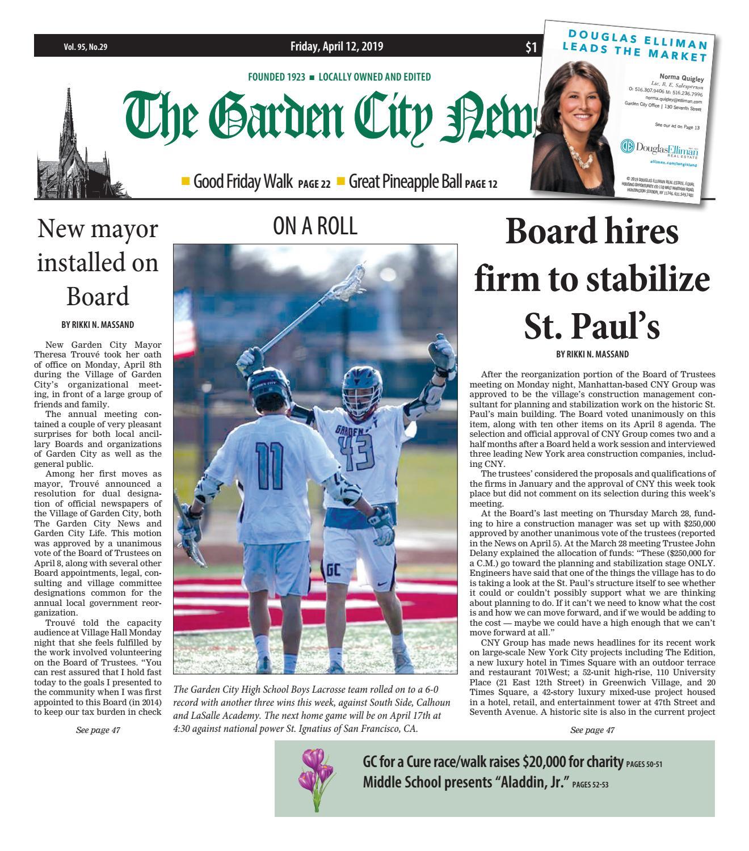 a22f850bb0b The Garden City News (4 12 19) by Litmor Publishing - issuu
