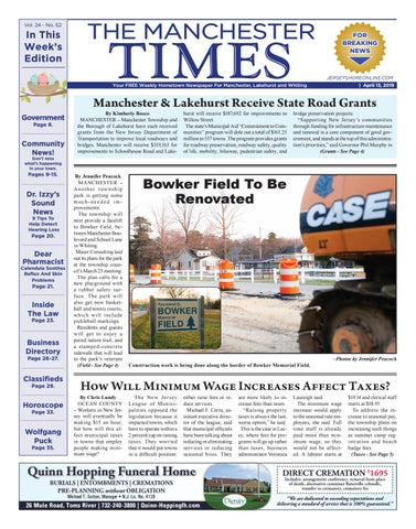 ea26b13da 2019-04-13 - The Manchester Times by Micromedia Publications Jersey ...