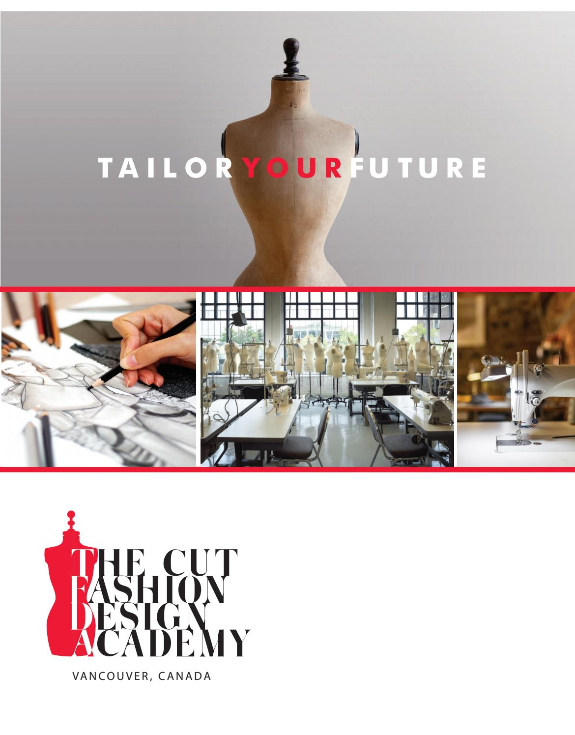 The Cut Fashion Design Academy Brochure 2019 By Tcfda Issuu