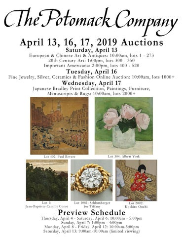 154ce3d3d7a4c Potomack April 13, 16, 17, 2019 Auction Catalogue by The Potomack Company -  issuu