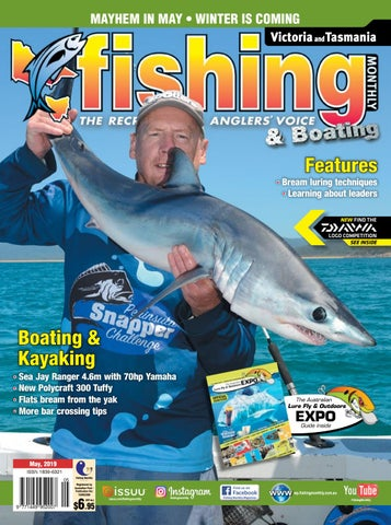 09cb4f727 Victoria and Tasmania Fishing Monthly May 2019 by Fishing Monthly ...