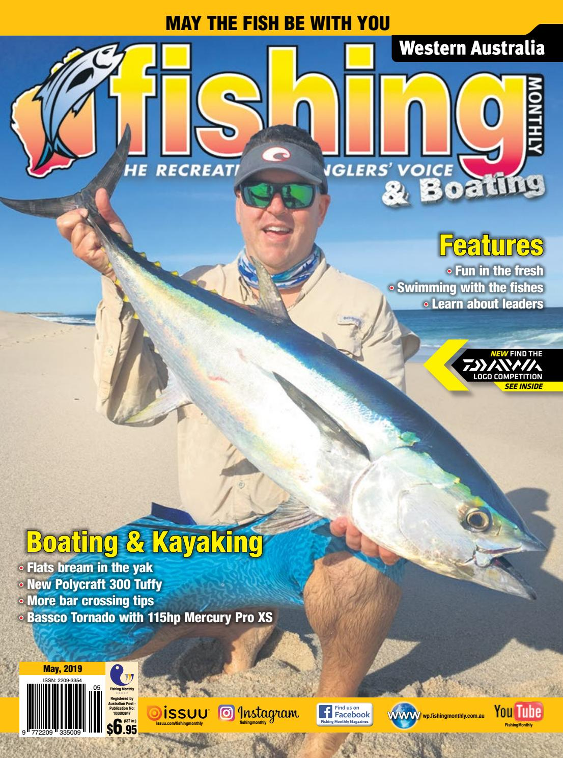 Western Australia Fishing Monthly May 2019 by Fishing