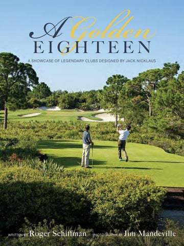 A Golden Eighteen - A Showcase of Legendary Clubs designed