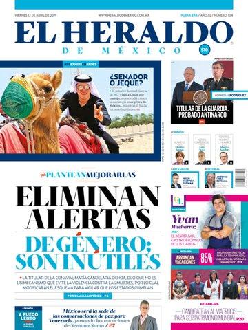 d0dc2c978a Viernes 12 de abril de 2019 by El Heraldo de México - issuu