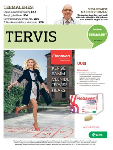 8d6644da80e Tervis 12.04.2019 by Postimees - issuu