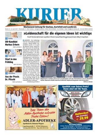 071b091073 KW 15-2019 by Wochenanzeiger Medien GmbH - issuu