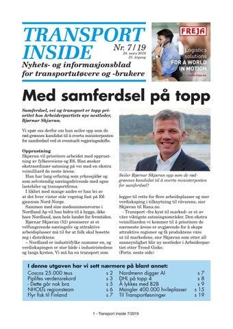 77fd772c Transport Inside 7 - 2019 by Øyvind Ludt - issuu