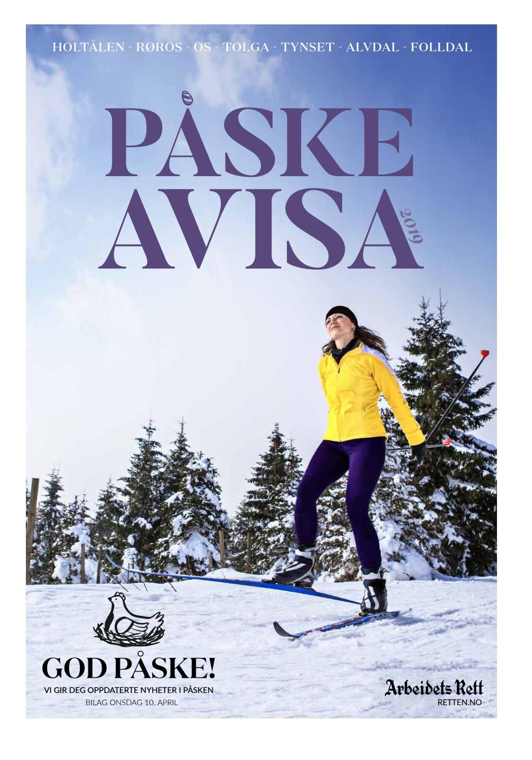 e289a6eb Påskeavisa 2019 by Amedia Annonseproduksjon AS - issuu