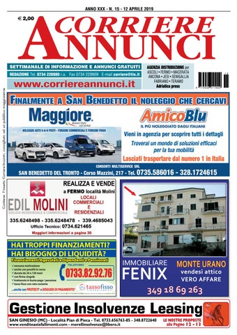 1ef0784315 Corriere 15-2019 by Corriere Annunci - issuu
