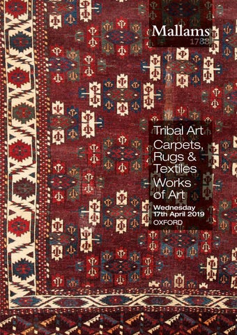 Tribal Art Carpets Rugs Textiles Works Of Art Wednesday 17th
