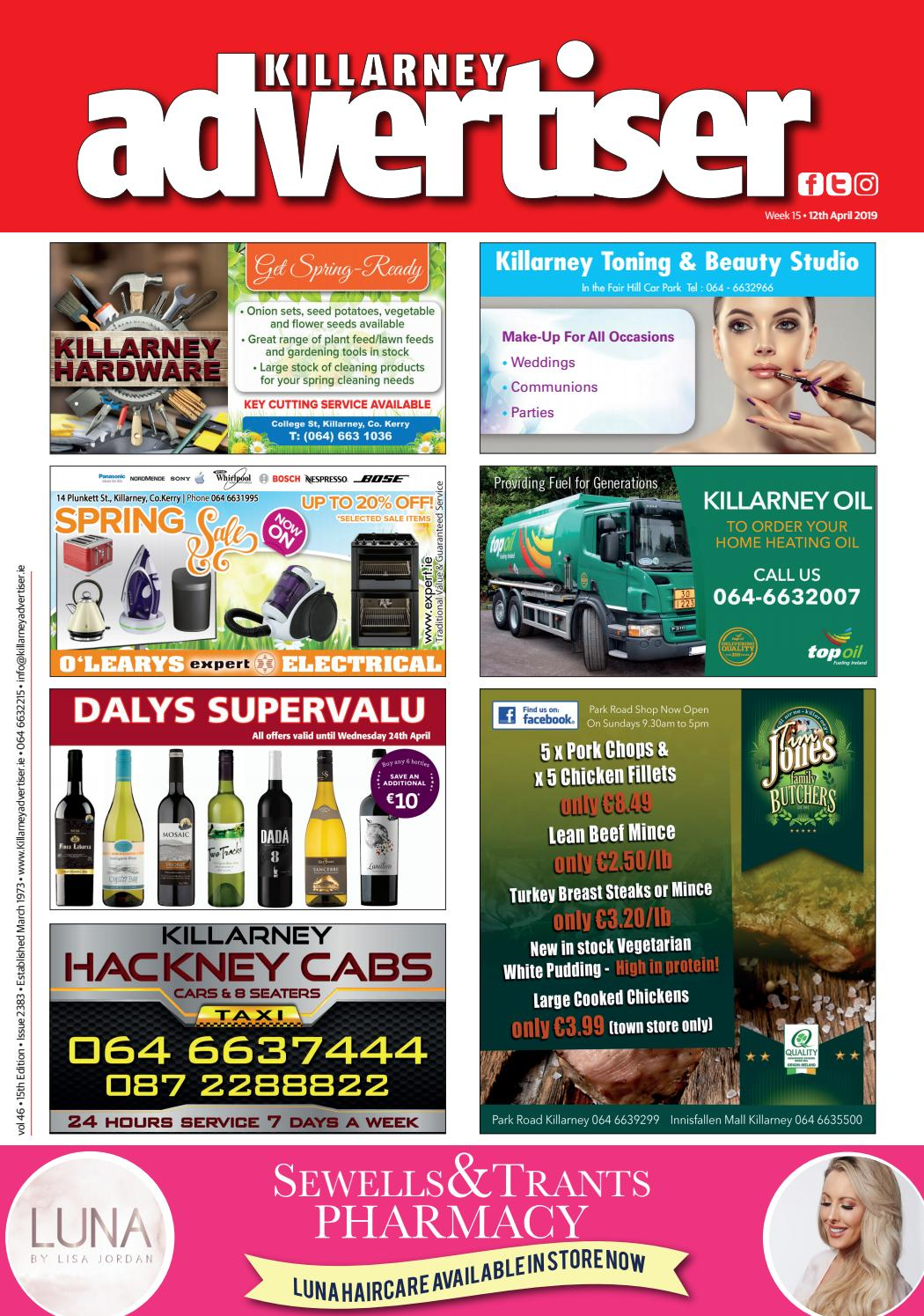 Killarney Advertiser 11th October 2019 by Killarney Advertiser