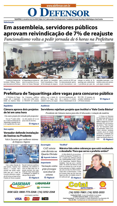 24e974f546b9 Jornal O Defensor 12 de abril de 2019 by gabriel baglioti - issuu