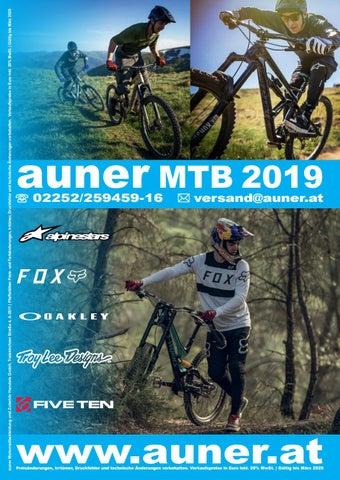 01872b371262e0 Auner MTB Katalog 2019