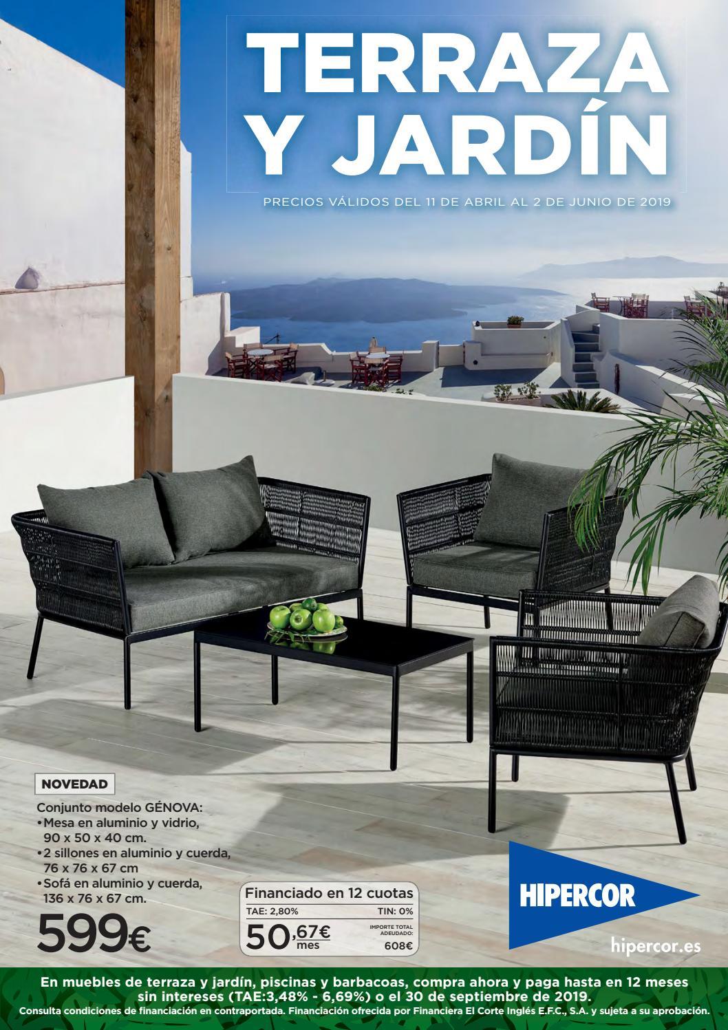 Catálogo Hipercor Terraza Y Jardin By Ofertas Supermercados Issuu