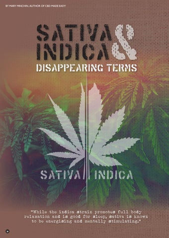 Page 34 of Sativa, Indica & Disappearing Terms