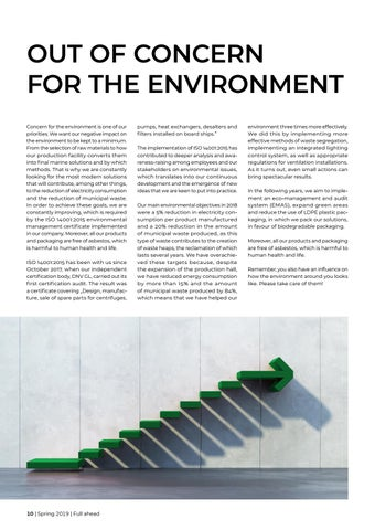 Page 10 of Out of concern for the environment