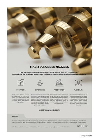 Page 11 of MAEM scrubber nozzles