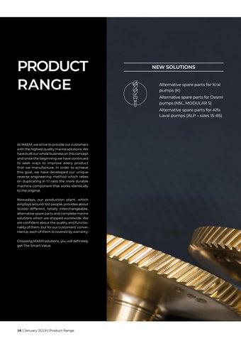Page 16 of MAEM product range