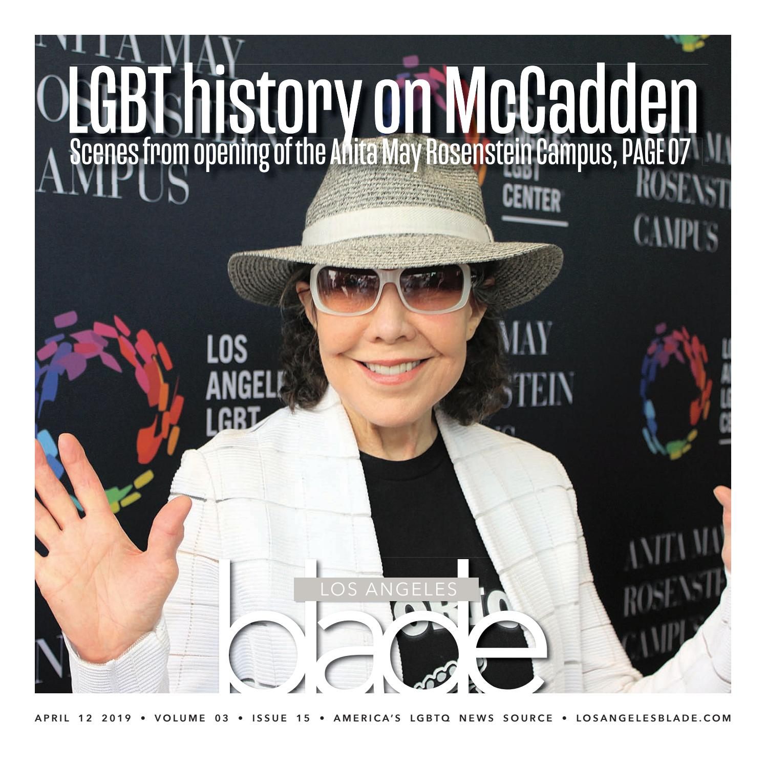 Losangelesblade com, Volume 3, Issue 15, April 12, 2019 by