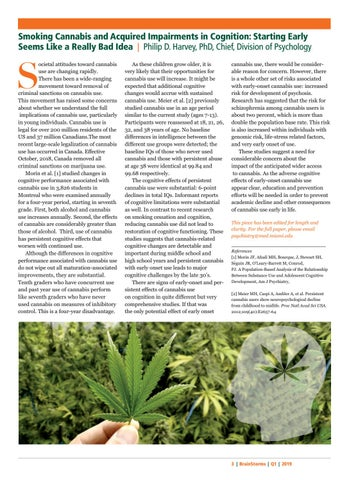 Page 3 of Smoking Cannabis and Acquired Impairments in Cognition