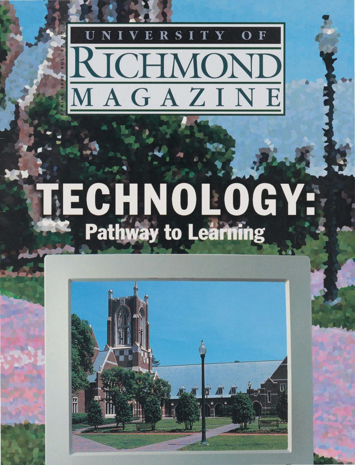 University of Richmond Magazine Spring 1995 by UR Scholarship
