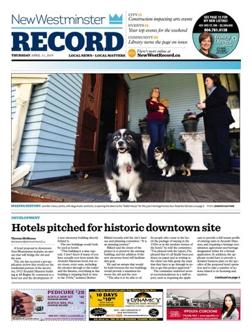 New Westminster Record April 11 2019 by Royal-City-Record