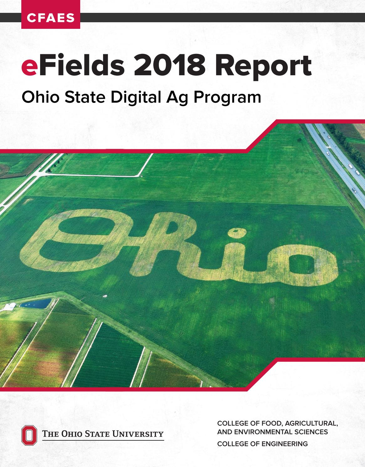 2018 Efields Report By Ohio State